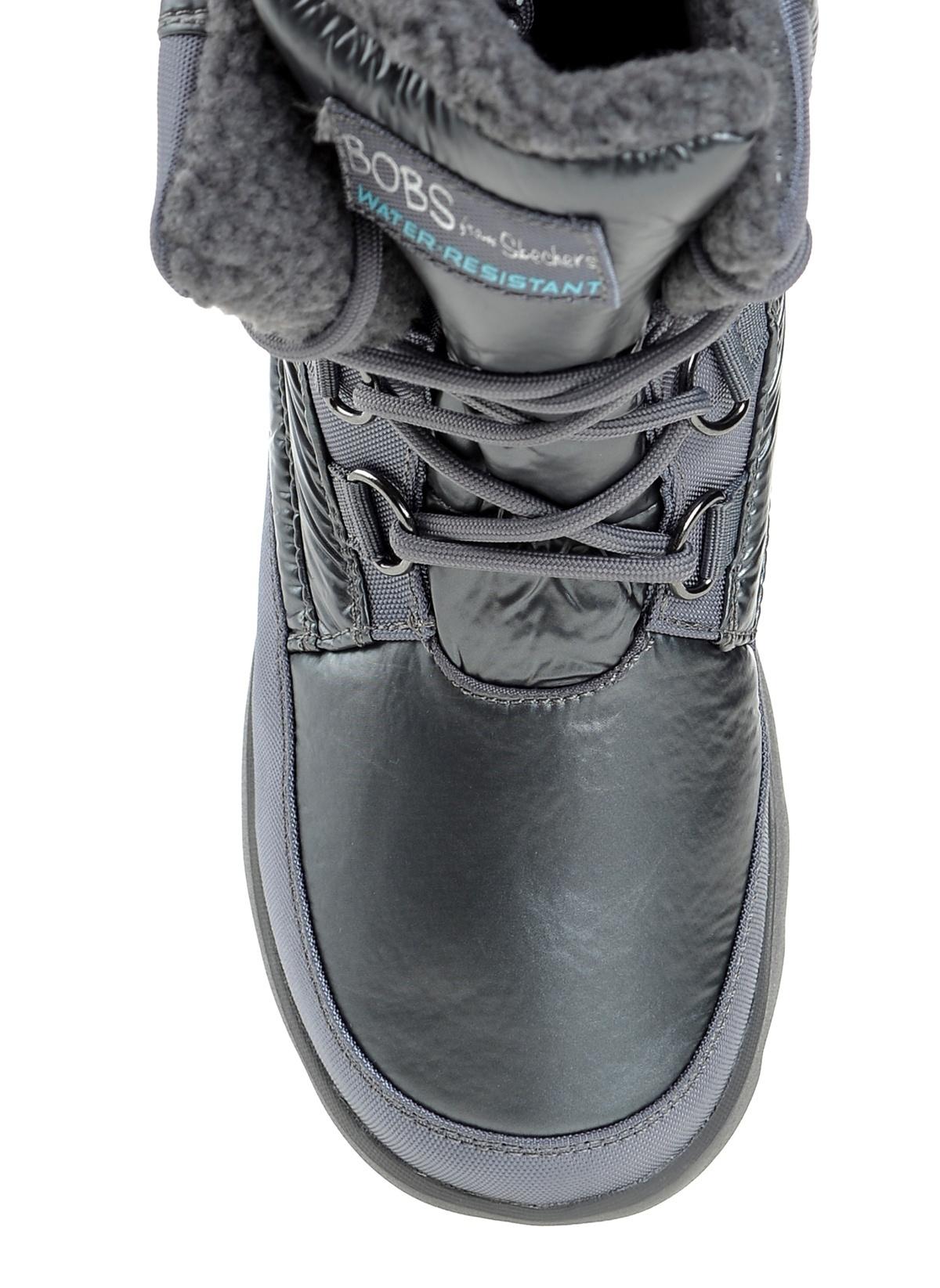 Skechers Kadın Mementos - Snow Cap Charcoal Leather  62d7a306f90